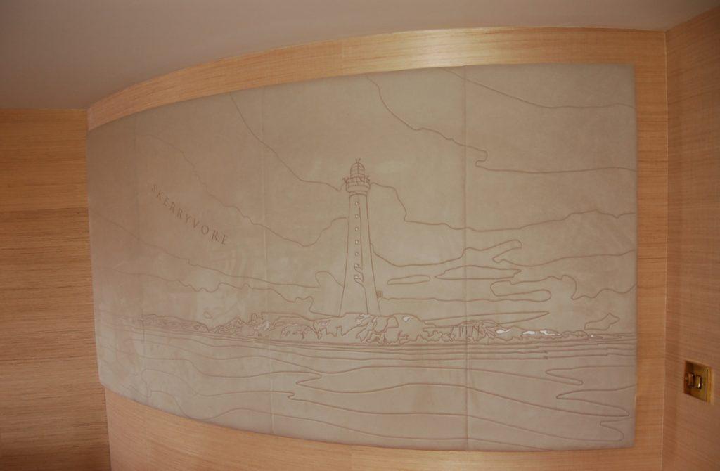 Skerryvore mural, Fingal Edinburgh