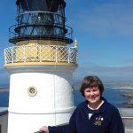 Joy Tubby at Sumburgh Head Lighthouse, Shetland