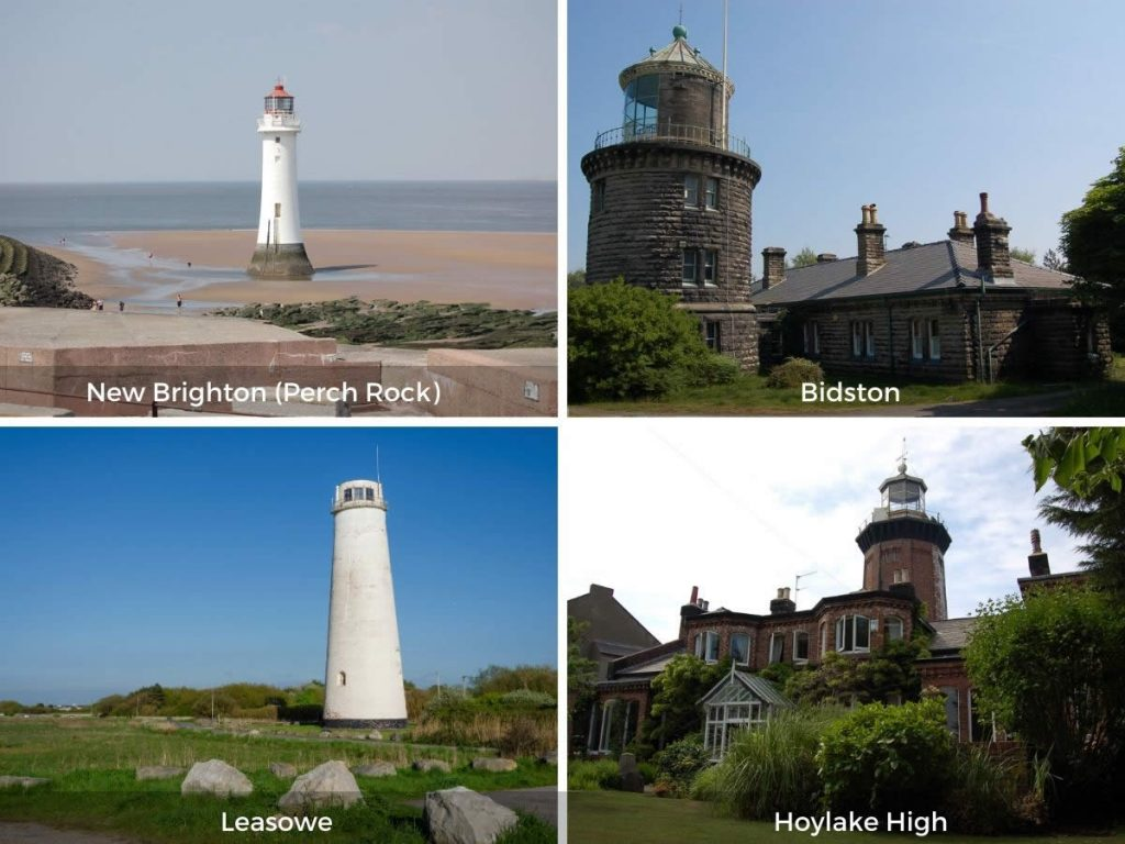 Cheshire lighthouses