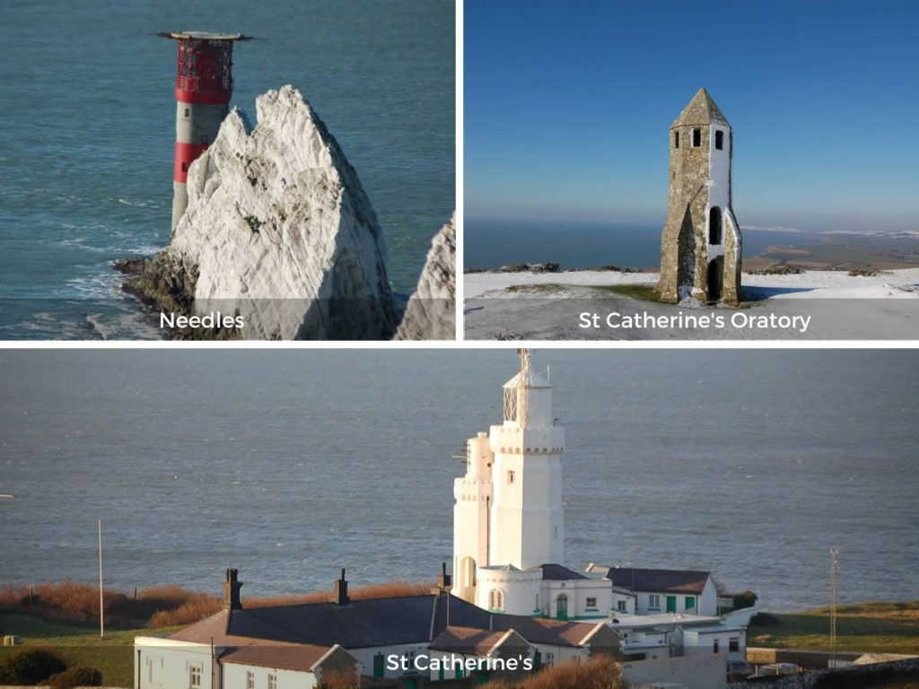 Isle of Wight lighthouses