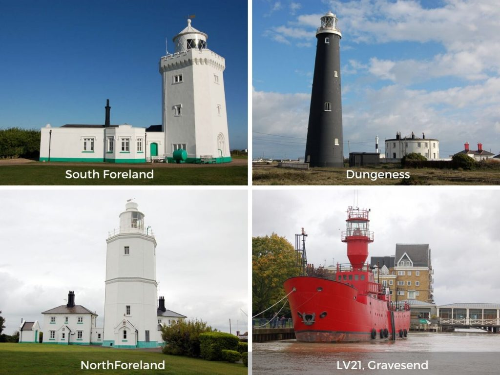 Kent lighthouses