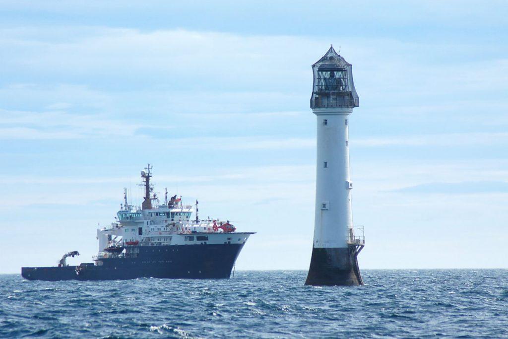 NLV Pharos at Bell Rock Lighthouse