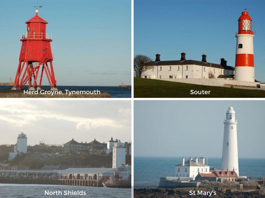 Tyne and Wear lighthouses