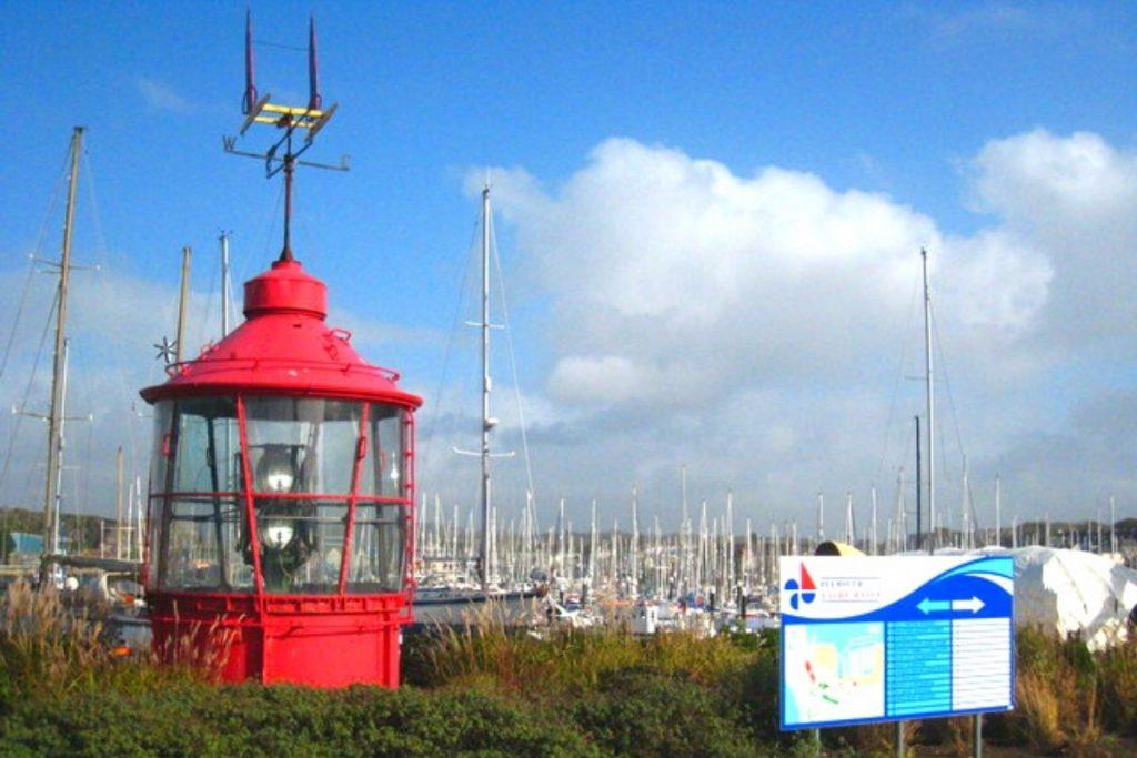 LIghtvessel lantern, Plymouth yacht haven