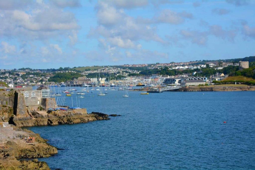 Plymouth looking across to Mountbatten