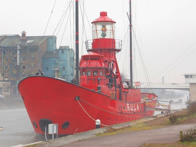 LV14 Sula Lightship