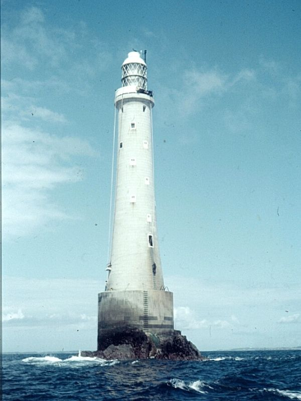 Bishop Rock Lighthouse 1966