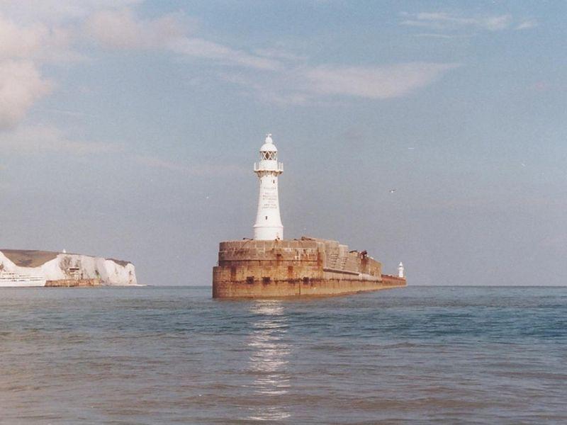 Dover West Head Breakwater Lighthouse