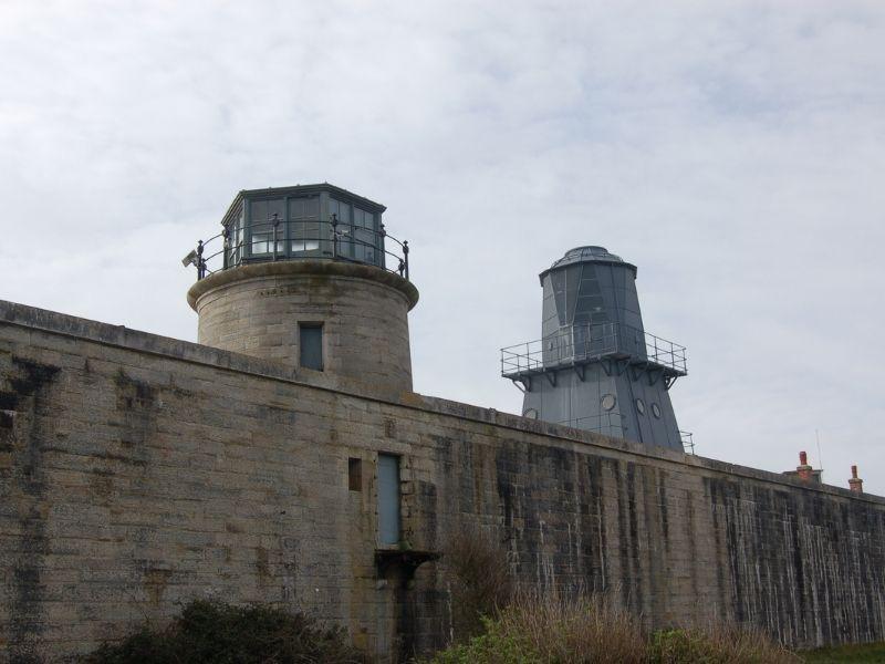 Hurst Castle Lighthouses
