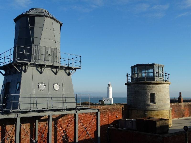 Hurst Point Lighthouses