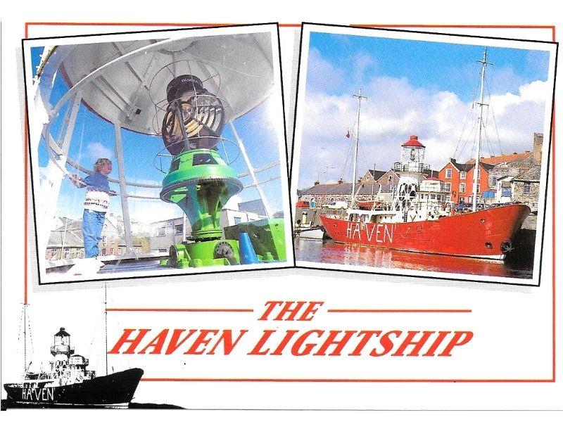 Haven Lightship postcard