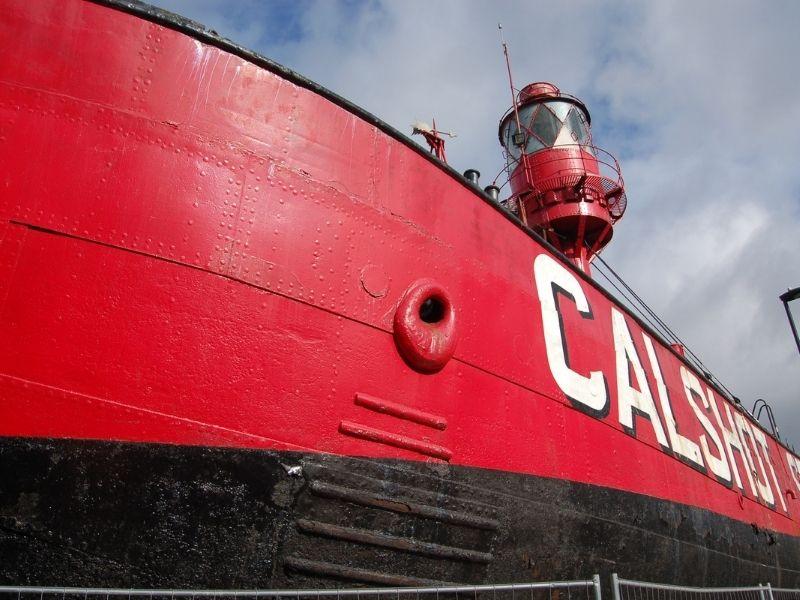 LV78 Calshot Spit Lightship