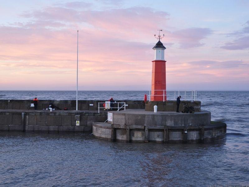 Watchet lighthouse