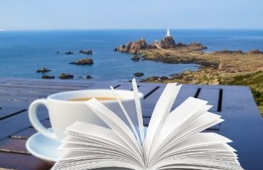 Book at Corbiere Lighthouse