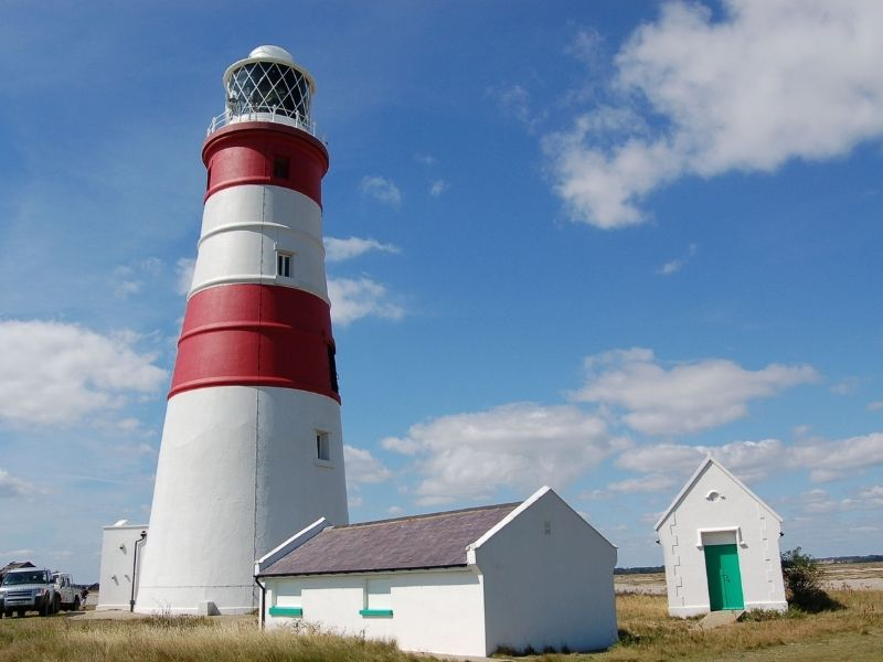 Orfordness Lighthouse August 2007