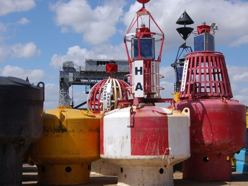 Buoys at Harwich