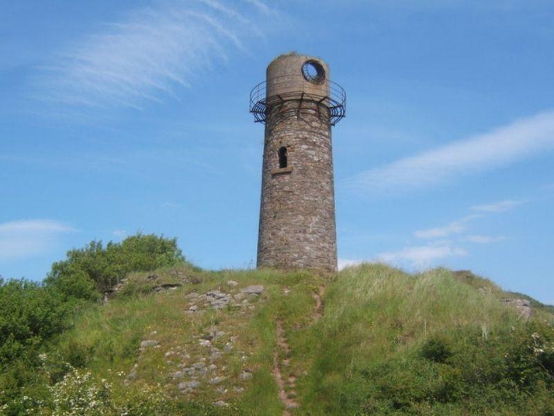 Old Hodbarrow Lighthouse