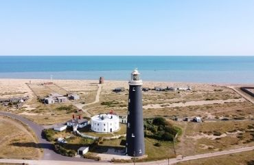 Dungeness lighthouses