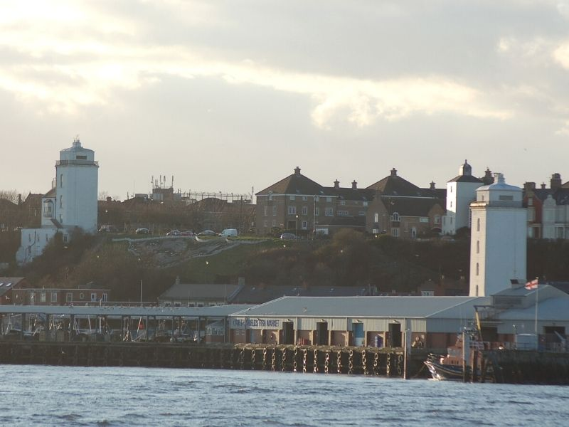 North Shields Lighthouses