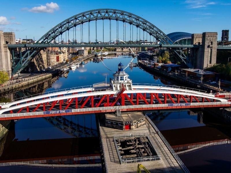 Tyne Swing Bridge Newcastle