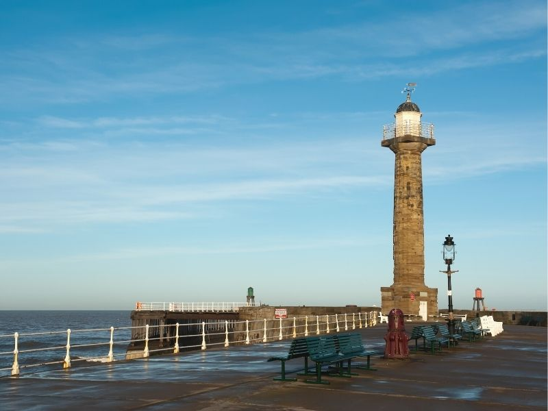 Whitby Harbour West Lighthouse
