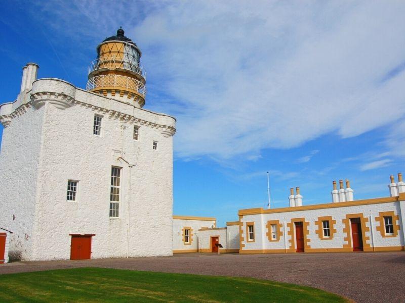 Kinnaird Head Lighthouse and cottages